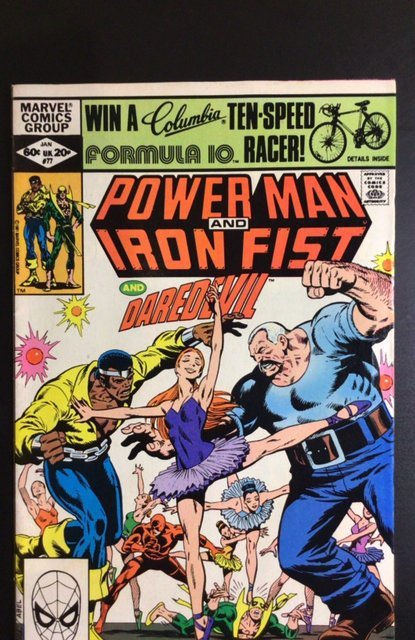 Power Man and Iron Fist #77 (1982)