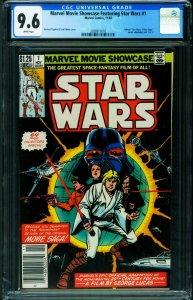 Marvel Movie Showcase Feat. Star Wars #1 1982-CGC 9.6 2038917010