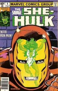 Savage She-Hulk, The #6 VF; Marvel | save on shipping - details inside