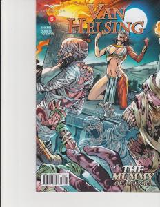 Van Helsing vs The Mummy #6 Cover B Zenescope Comic GFT NM Vitorino