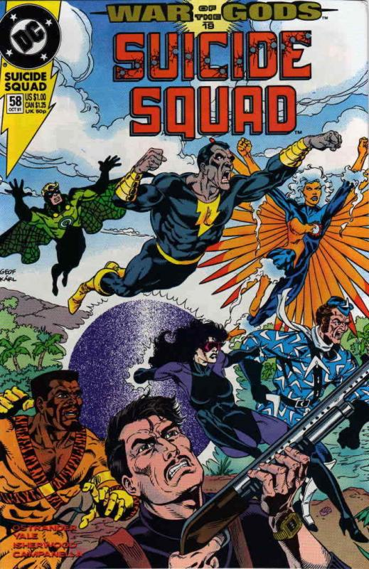 Suicide Squad #58 VF/NM; DC | save on shipping - details inside