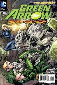 Green Arrow (2011 series) #8, NM + (Stock photo)