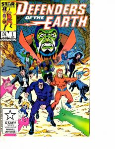 Lot Of 2 Marvel Comic Books Defenders of Earth #1 and X-Treme X-Men #4 BH52