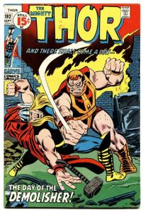 THOR #192 1971 MARVEL COMICS-the demolisher-BRONZE-comic book