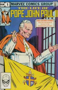 Life of Pope John Paul II, The #1 VG; Marvel | low grade comic - save on shippin