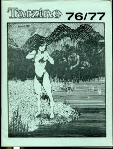 Tarzine #76/77 1989-Fanzine for collectors of Tarzan and ERB memorabilia-VF