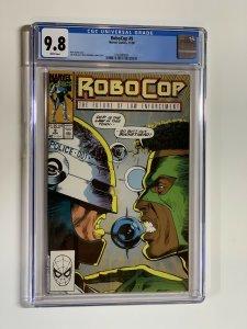 Robocop 9 Cgc 9.8 Wp Marvel Copper Age