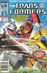 Transformers (1984 series) #28, Fine+ (Stock photo)