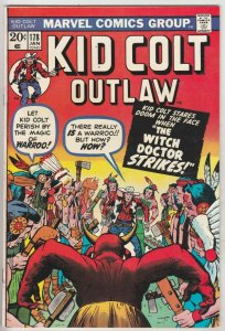 Kid Colt Outlaw #178 (Jan-74) FN/VF+ High-Grade Kid Colt
