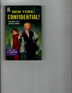 3 Books New York Confidential This is It Michael Shayne Making of a Mistress JK8