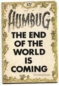Humbug #1 1957- Jack Davis- First issue comic book
