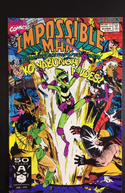 The Impossible Man Summer Vacation Spectacular #2 (1991)