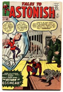 TALES TO ASTONISH #45 comic book ANT-MAN-2nd Wasp-Marvel Kirby