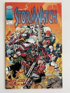 STORM WATCH # 1 IMAGE Comics  (1993) VF+