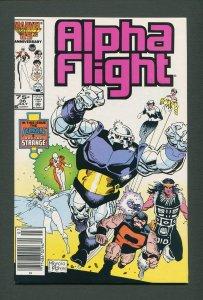 Alpha Flight #36  / 9.4 NM  / Newsstand /  July 1986