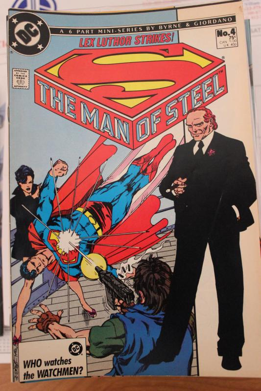 Man of Steel 6 Part Mini Series  #4 VF