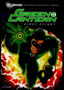 Green Lantern:  First Flight  DC Universe Animated Original Movie DVD