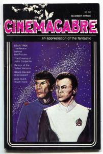 Cinemacabre fanzine #3 1980- Star Trek- John Carpenter