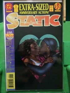 Static #25 Extra-Sized Anniversary Action!