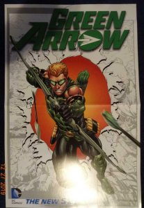 GREEN ARROW  Promo Poster, 11 x 17, 2012, DC Unused more in our store 417
