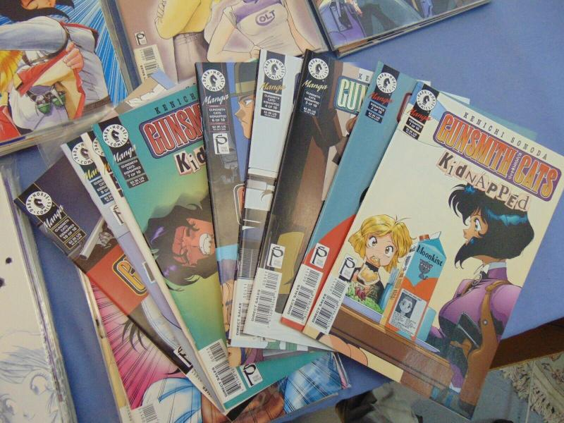 54 Kenichi Sonoda Gunsmith Cats English Manga Comic Books Kidnapped Bad Trip + +