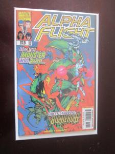 Alpha Flight (1997 2nd Series) #17 - VF - 1998