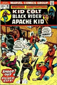 Western Gunfighters (1970 series) #16, Fine- (Stock photo)