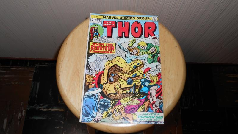 THE MIGHTY THOR # 242 DEC. 1975 (PRE OWN)