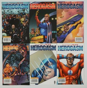 Boys: Herogasm #1-6 VF complete series 1st app of Soldier Boy+ Crimson Countess