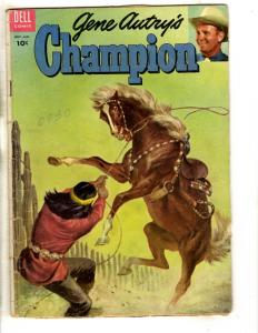 Gene Autry's Champion # 16 VG Dell Golden Age Comic Book 1955 Horse Western JL18