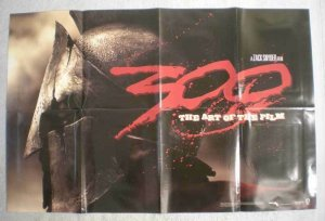 300 - ART OF THE FILM Promo Poster, Frank Miller, Unused, more in our store