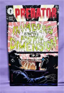 Jerry Prosser PREDATOR Invaders From the Fourth Dimension #1 (Dark Horse, 1994)!