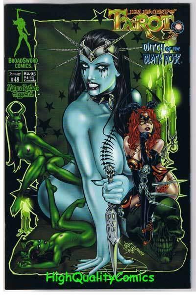 TAROT: WITCH of the Black Rose #48, NM-, Jim Balent, more in store, Femme fatale