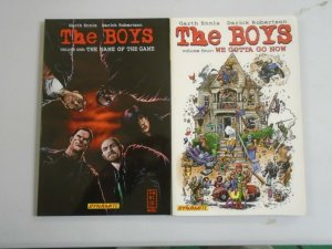 The Boys TPB #1+4 SC (2007 Dynamite)
