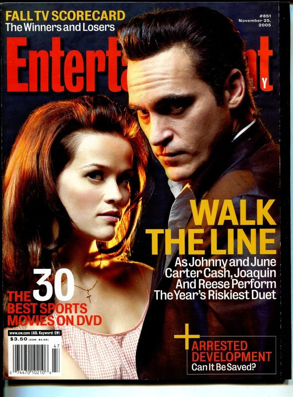 Entertainment Weekly 11/25/2005-Reese Witherspoon-Joaquin Phoenix-FN/VF