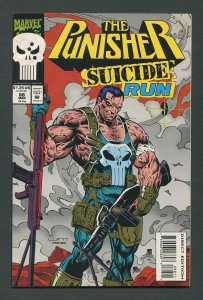 Punisher #88 / 8.5 VFN+  Newsstand  March 1994