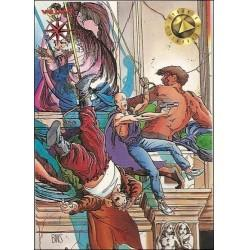 1993 Valiant Era ARCHER AND ARMSTRONG #4 - Card #100