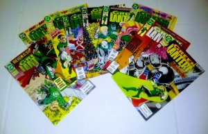 Green Lantern comic book lot of 9 average grade 7.5-8.0 (id#011)