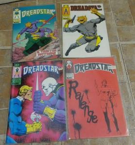 DREADSTAR # 8 14 17 18 1984 MARVEL EPIC JIM STARLIN