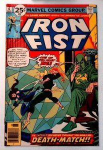 Iron Fist #6 Marvel 1976 VG/FN Bronze Age Comic Book 1st Print