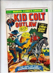 Kid Colt Outlaw # 171 strict FN/VF appearance Two-Gun Kid!