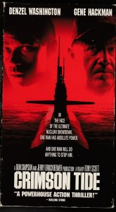 Crimson Tide VHS Based on a true story and an early Quentin Tarantino script !
