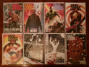 OLD MAN LOGAN 1 - 50 & ANNUAL 1 + VS DEADPOOL 1 - 5  PLUS EXTRAS -- COMPLETE