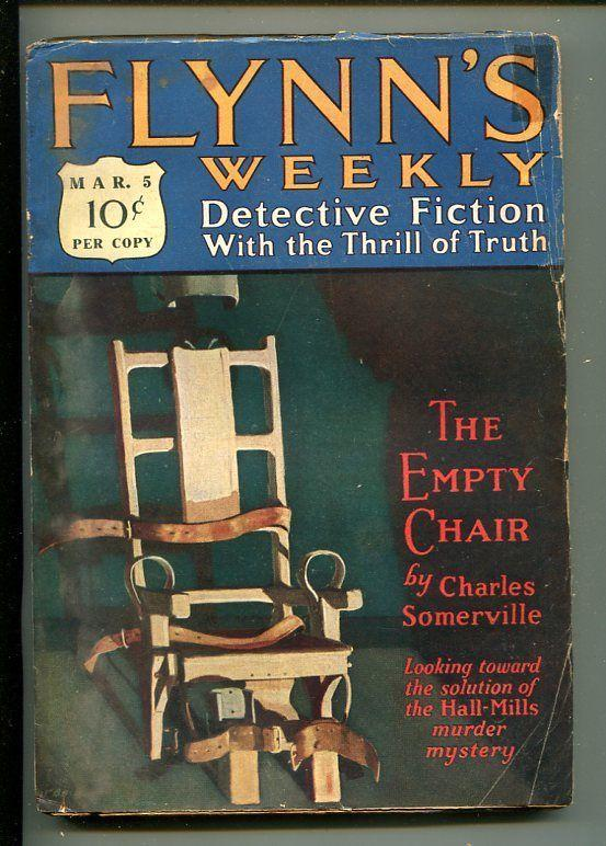 FLYNN'S WEEKLY DETECTIVE FICTION-MAR 5 1927-PULP-CRIME-MYSTERY-SOMERVILLE-good