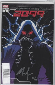 2099 OMEGA #1 SPENCER SGN 20/25 Sealed With Coa Limited to 25 Copies