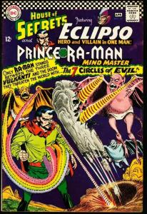HOUSE OF SECRETS #77-ECLIPSO/PRINCE RA-MAN-1966 FN
