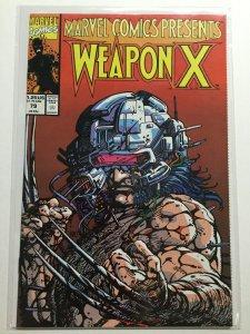 Marvel Comic Presents 79 Near Mint Nm Marvel Weapon X
