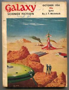 Galaxy Science Fiction October 1954- Philip K Dick VG
