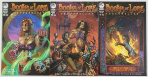 Books of Lore: Storyteller #1-3 VF/NM complete series - peregrine comics set 2