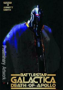 (Classic) Battlestar Galactica: The Death of Apollo #3C VF/NM; Dynamite | save o